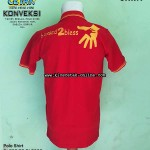 polo shirt merah