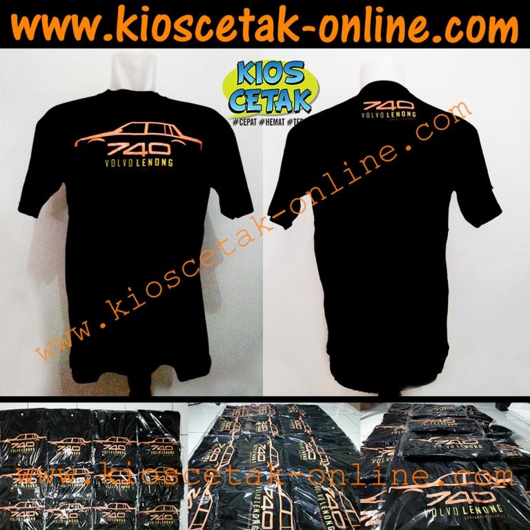 T-Shirt Volvo lenong Community black