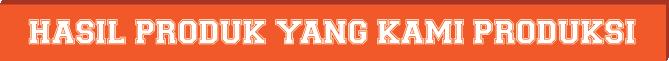 Produk yang kami Produksi Orange-03