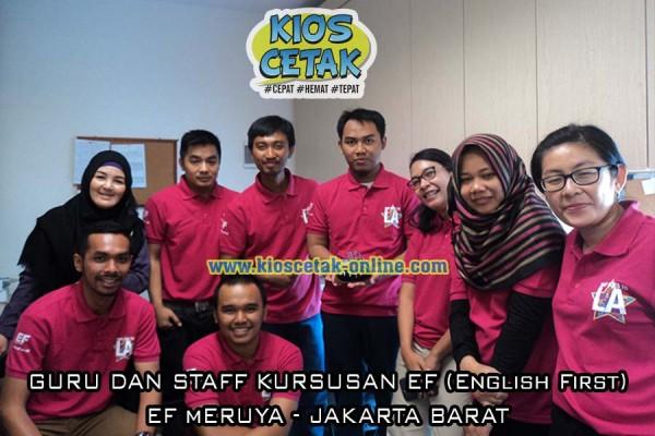 klien kami EF meruya Staff