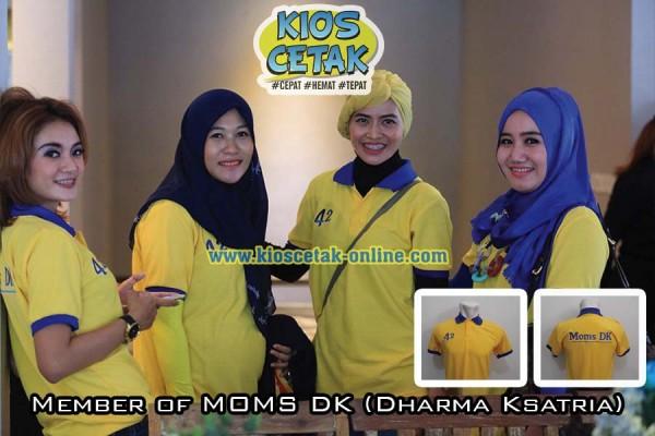 klien kioscetak Polo Shirt MOMs DK2