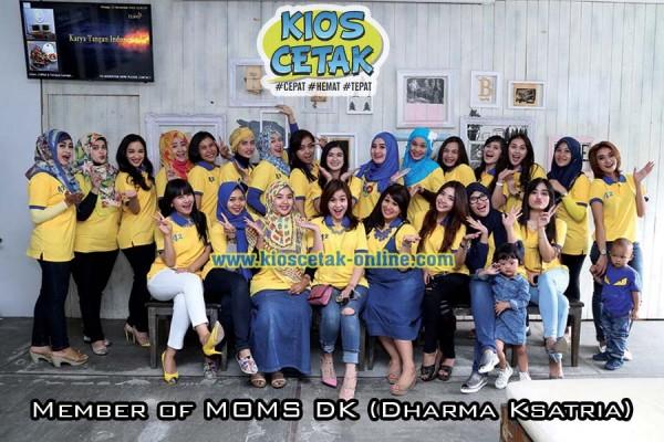 klien kioscetak online - Polo Shirt MOMs DK3