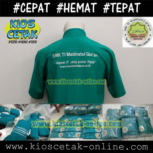 Polo Shirt SMK TI MADINATUL QUR'AN