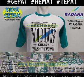 T-shirt Reglan PT Radana Finance