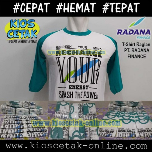 T-shirt Reglan PT Radana Finance