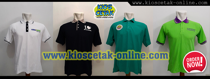 header Polo shirt baru